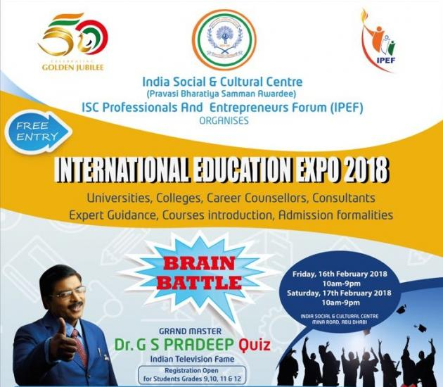 Brain Battle International Education Expo 2018