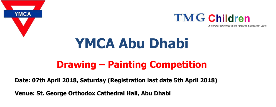 YMCA Abu Dhabi   Drawing – Painting Competition