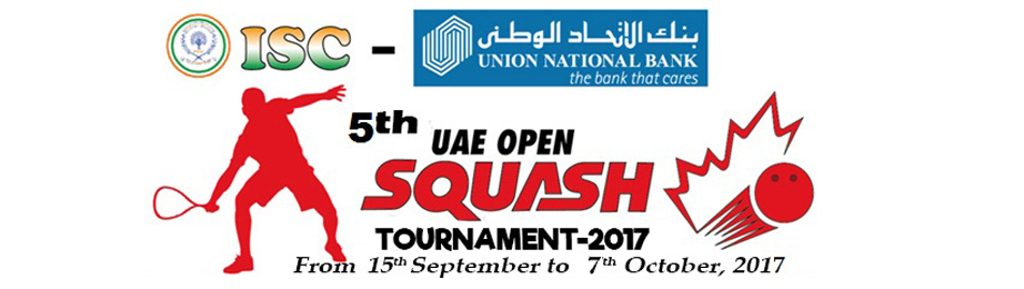 5th UAE OPEN SQUASH CHAMPIONSHIP - 2017