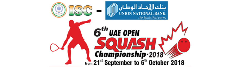 6th UAE OPEN SQUASH CHAMPIONSHIP - 2018
